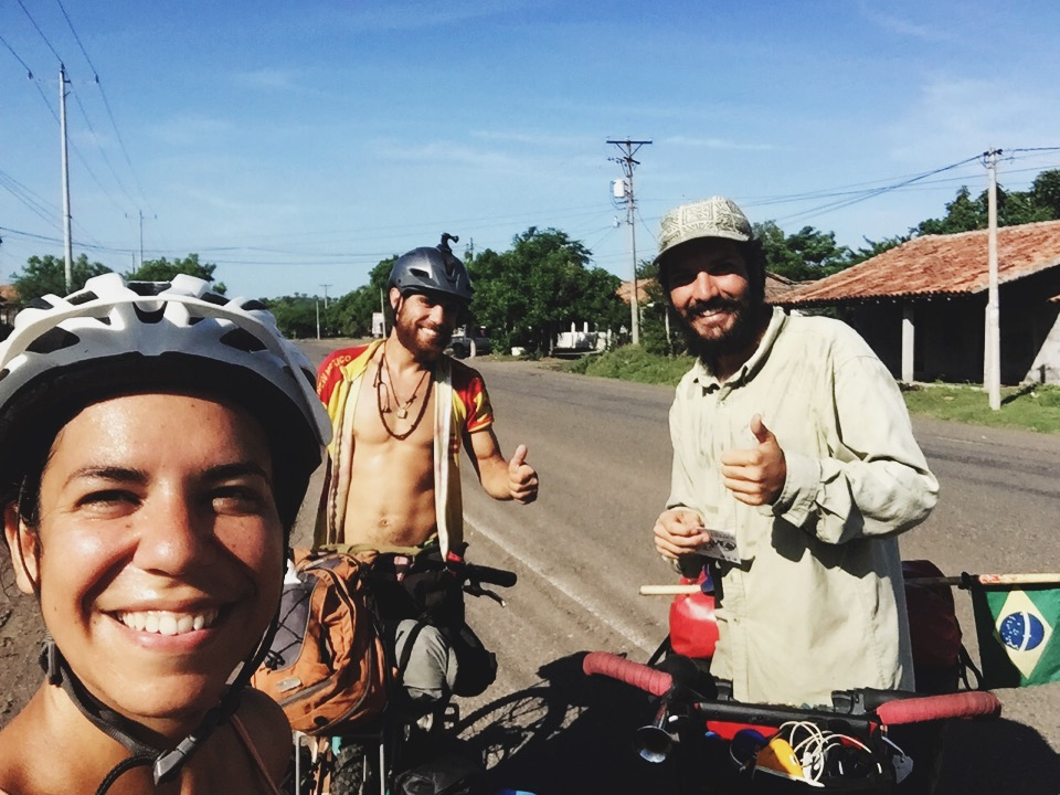 Meeting Jose from Brazil on the road