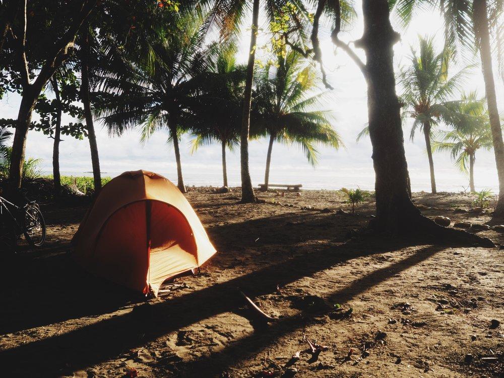 Playa Ventanas camp
