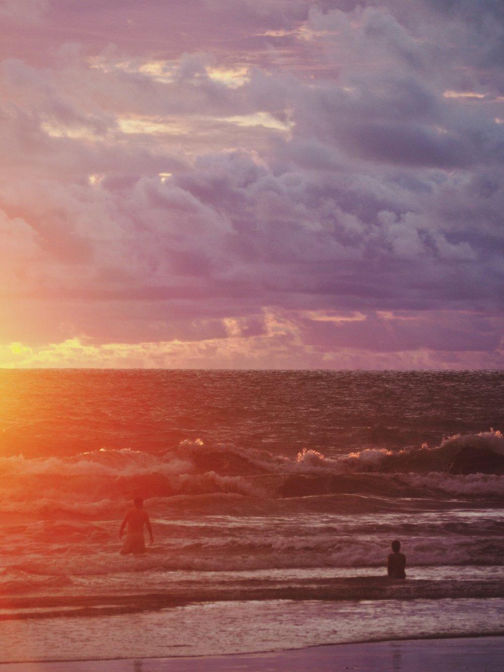 Sunset at Playa Ventanas