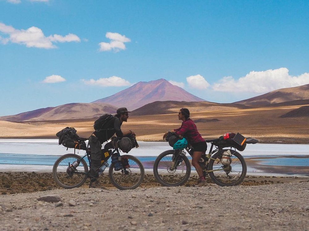 Our bikes in Southern Bolivia, November 2018