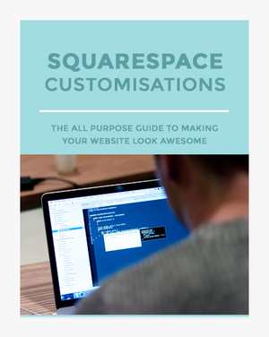 Squarespace customizations promotional ebook image
