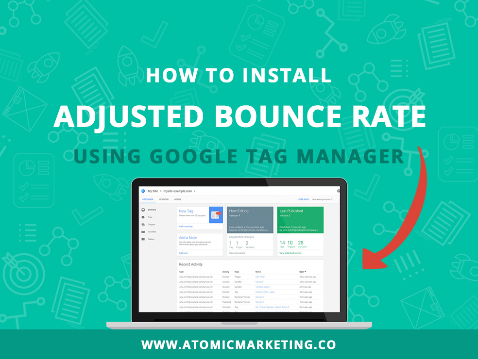 How to install adjusted bounce rate using Google Tag Manager banner image