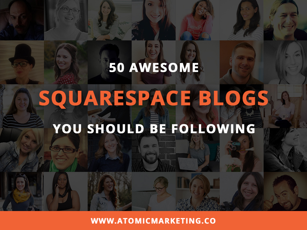 Top 50 Squarespace Blogs featured image