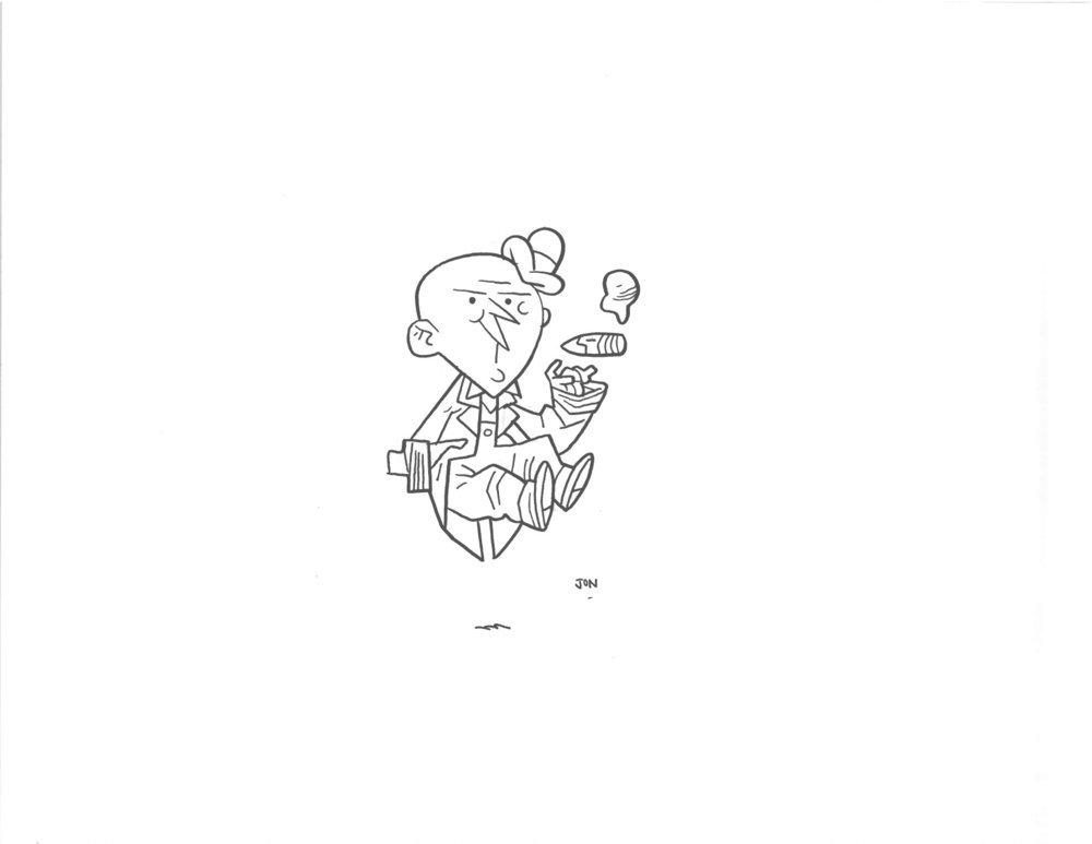 GOLDEN AGE MXYZTPLK - $40 Original Illustration / 8.5 x 11 Cardstock