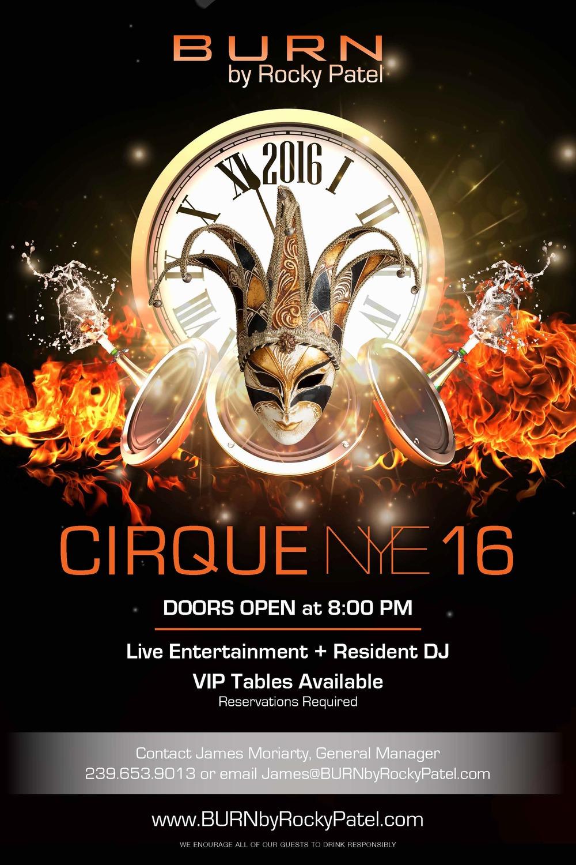 CIrque NYE 2016