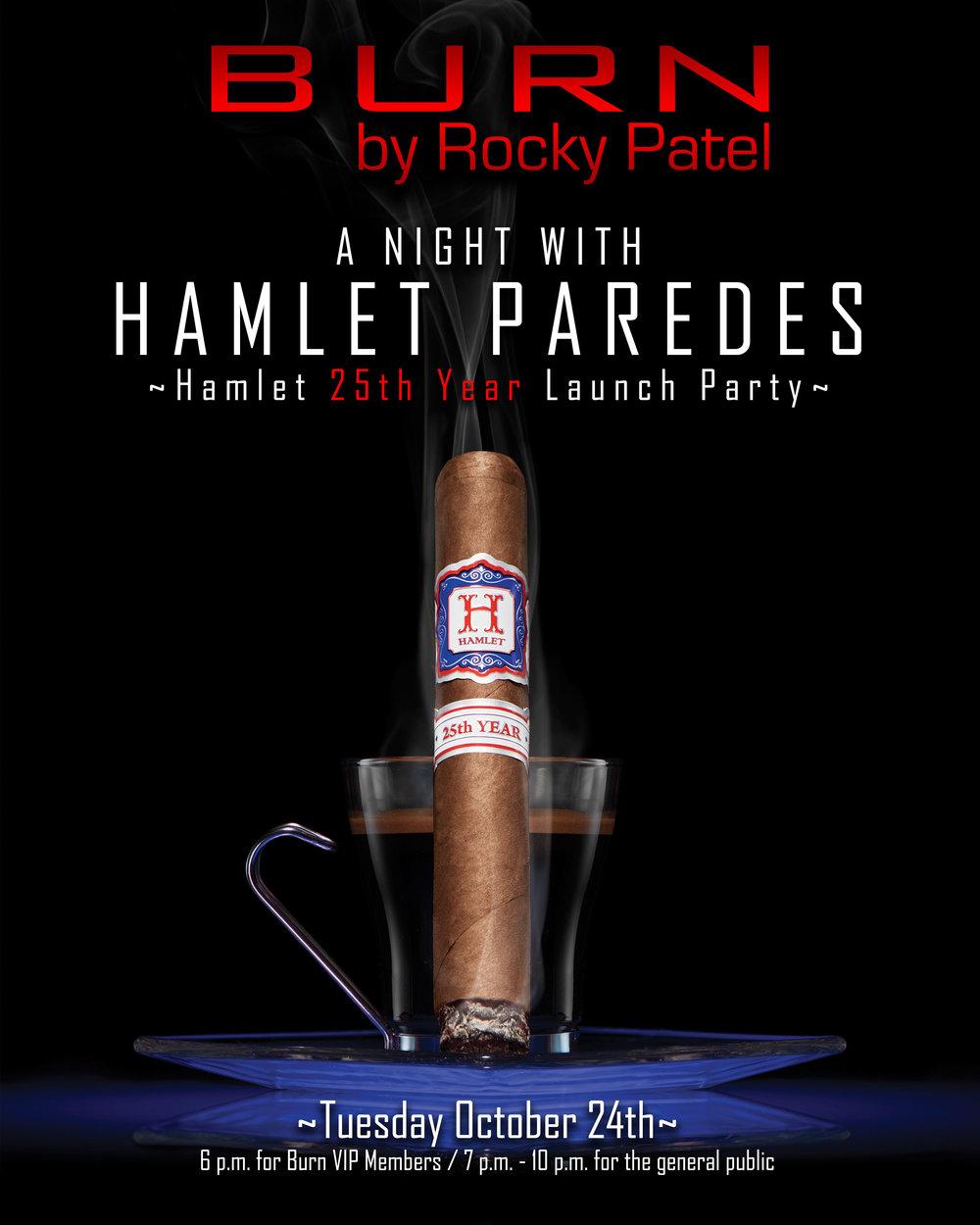 Hamlet Paredes Launch Party