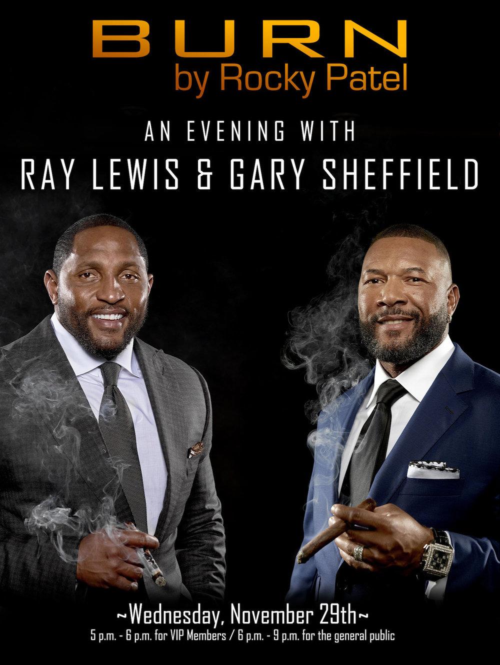 Burn Ray Lewis Gary Sheffield Event