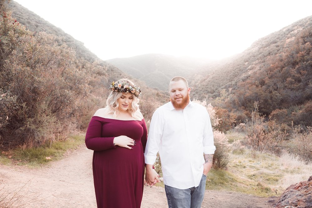 Lindsey Outdoor Maternity Shoot Corona California_0025.jpg
