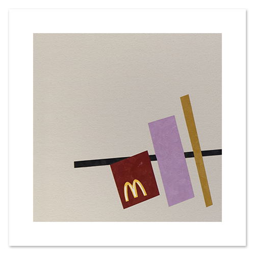 McDonald's by Malevich