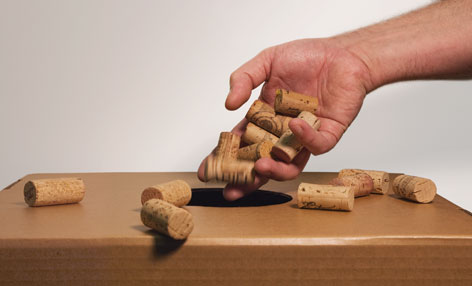RECYCLE! - We are serious about this cork recycling thing. please help us in the quest to recycle as much cork as you can. tell your friends, co workers or favorite restaurant to save cork so we can try to save our planet, one cork tree at a time.