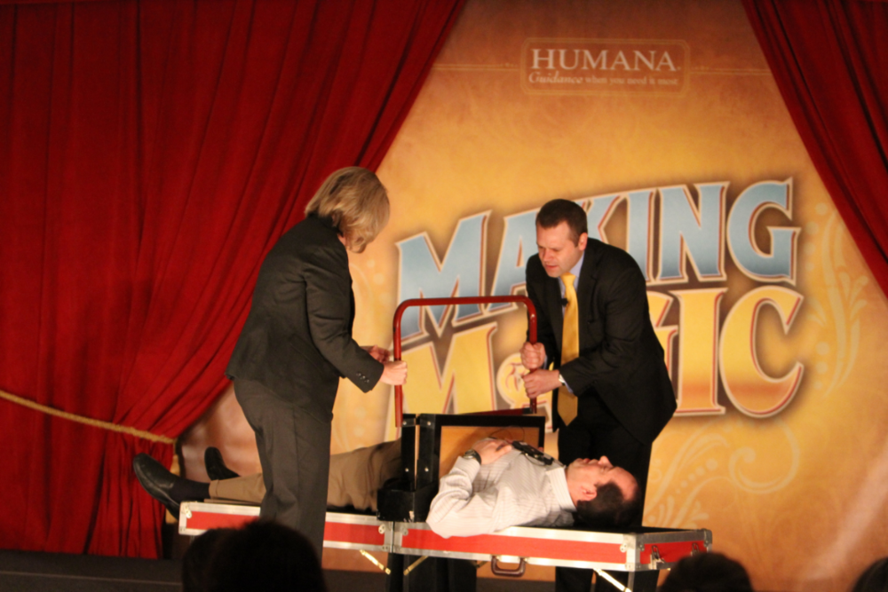 magician for corporate eents
