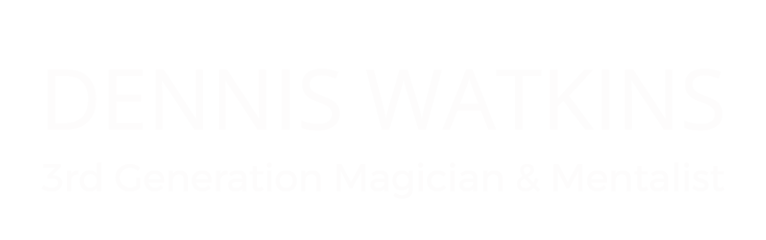 Dennis Watkins | 3rd Generation Magician & Mentalist | Corporate Event Entertainer