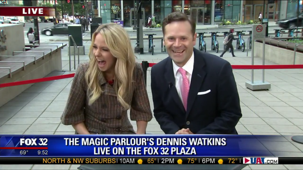 Click the image to watch Dennis Watkins on Good Day Chicago