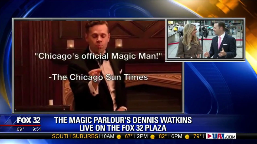 Click to Watch Dennis Watkins on Good Day Chicago