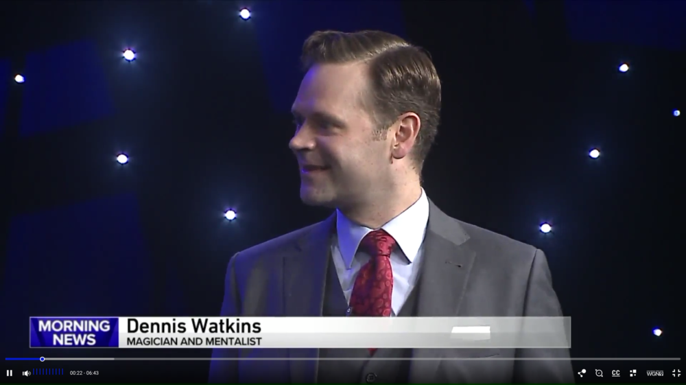 Click the image to see Dennis Watkins on WGN Morning News