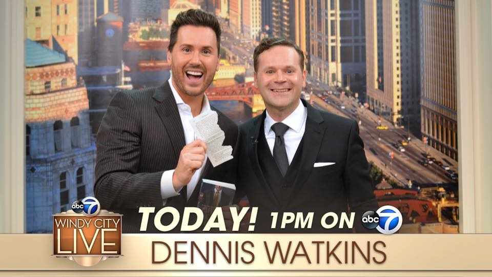 Click the image to see Chicago Magician Dennis Watkins on Windy City Live
