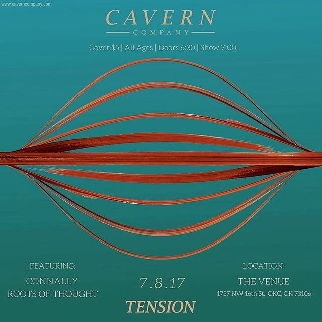 "OKC! Celebrating our friends @caverncompany EP release ""Tension"" 🔆 see you there! 🦑🍓🌶🍄🌎🌊🍾 #okc #music #celebrate"