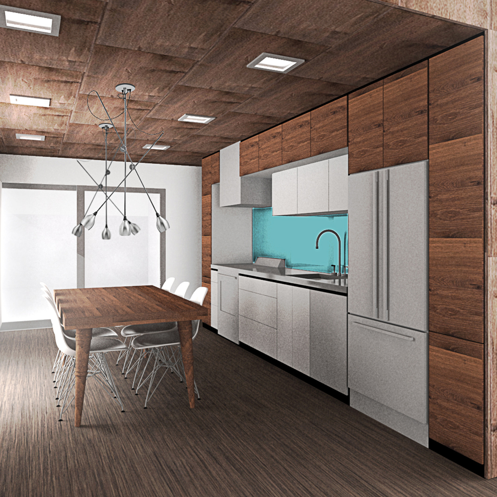 architecture kitchen design by Andrew Goodwin Designs