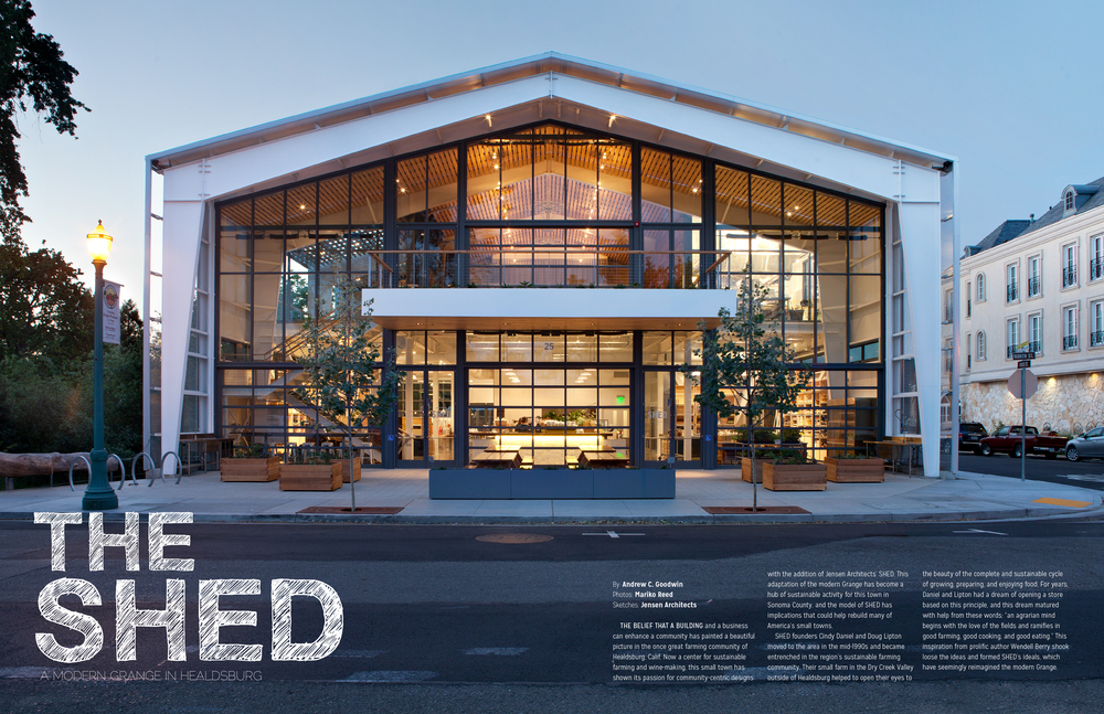 The Shed publication by Andrew Goodwin Designs