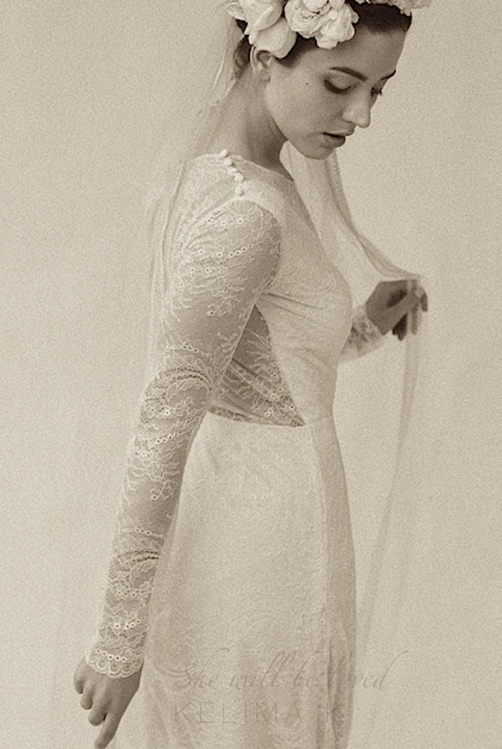 Designer/Artist Kelima K, showing at NY fashion week, Lincoln Center Tents.
