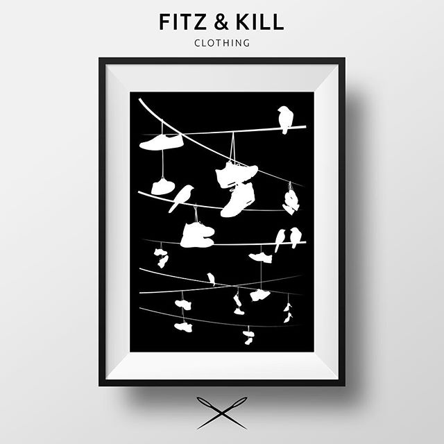 We are now expanding into #artprints and other #merchandise will be updating the store this week, stay tuned!  #fitzandkill #streetwear  #clothing #artprints #merch #designer #fashion #art #clothingco #style #newproducts #designerbrand #homewear #streetfashion #bristol #brand #artwork #skillmatik #wallart #gallery #instaart #gallery #print #screenprint #hoodwatch #hood #streetart #streetstyle