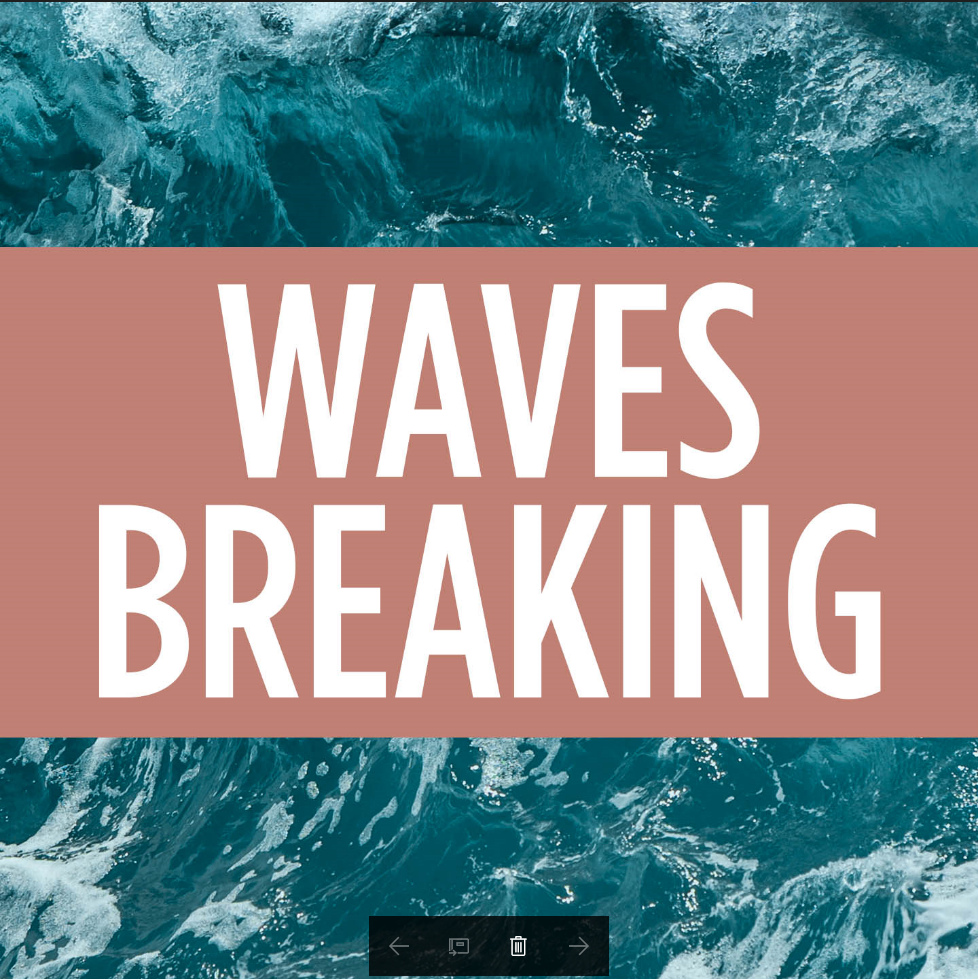 Waves Breaking