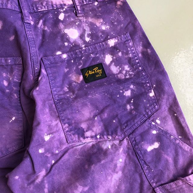 DEEP SPACE... ✨ When your dye house uses dark matter and quantum physics in the wash formula.  #stanray  #darkmatter #deepspace