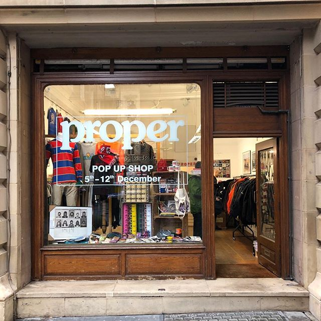 HERE ALL DAY! Swing by 13 Old Bank Street, Manchester M2 7PE for Samples deadstock and @propermag (s)