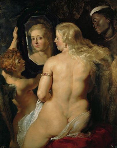 "Rubens' ""Venus at a Mirror circa 1615"""
