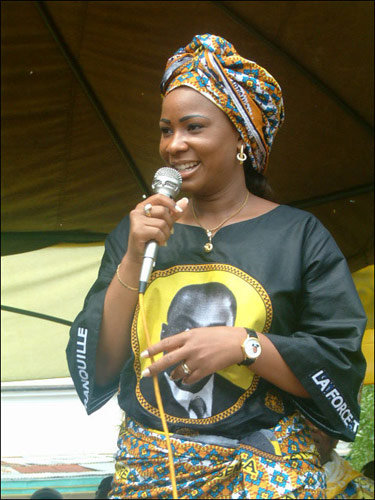 First Lady Marie Olive Kabila - Democratic Republic of Congo