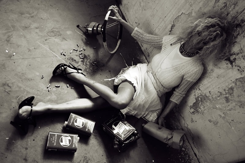 Rape Victim, Photo by Reinfried Marass (http://reinfriedmarass.com/blog/)