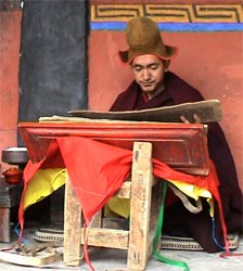 Konchog Wangdu Tibetan Monk