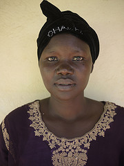 Evelyn, she was one of LRA leader Joseph Kony's child brides, Photo by Sean Sprague
