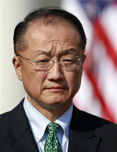 Jim Yong Kim, President of World Bank, 2012