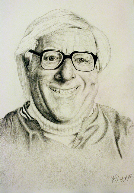Ray Bradbury, by MP, 3.18.2011 (Photo by Poditty 444)