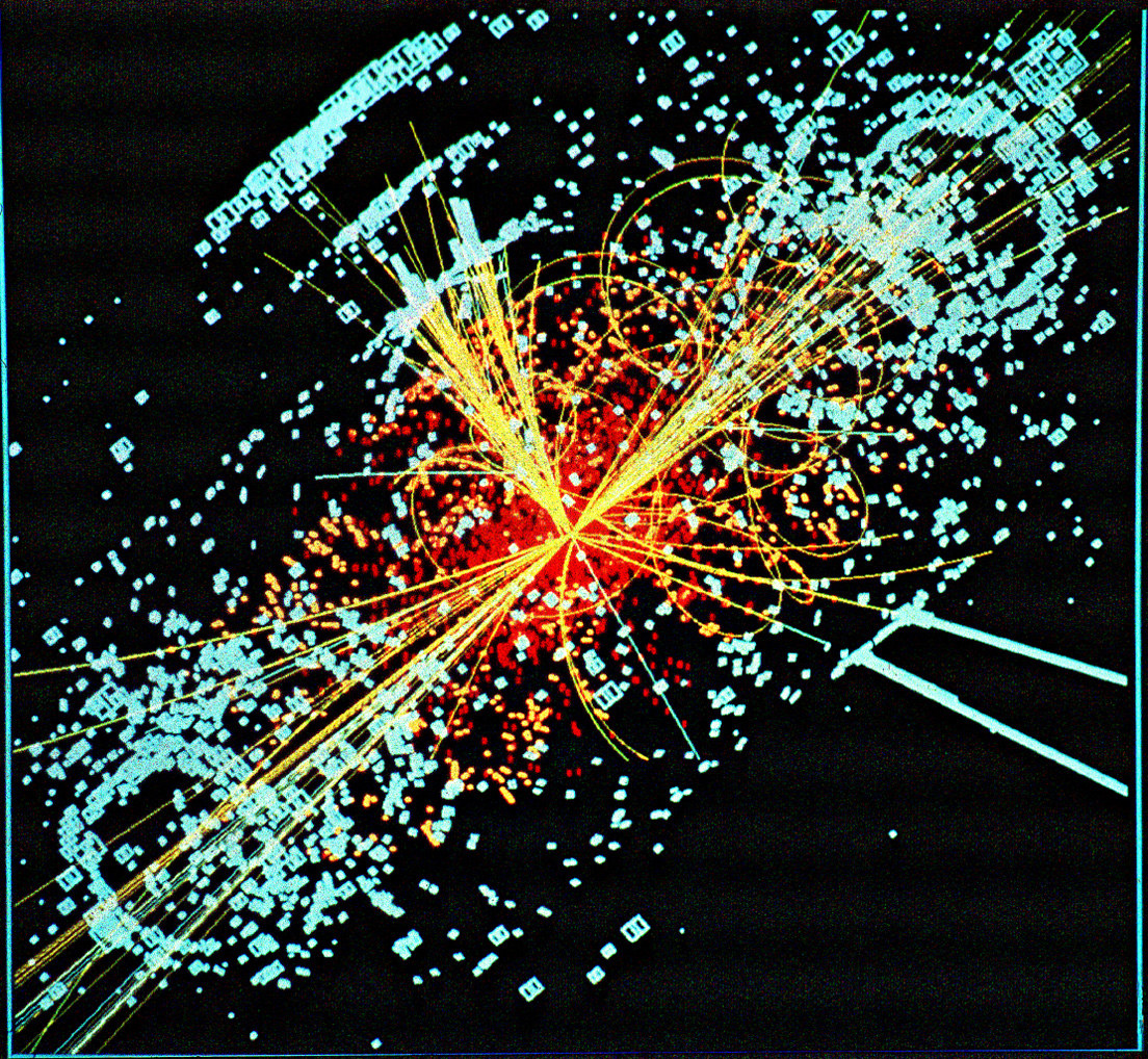 Higgs Boson, God Particle, Photo by Lucas Taylor - CERN