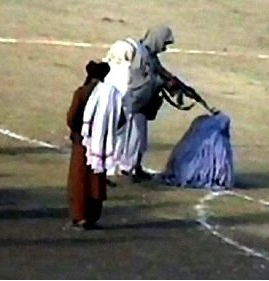 Iconic Photo Taliban Executing Woman, Photo Courtesy Jonathan Narvey