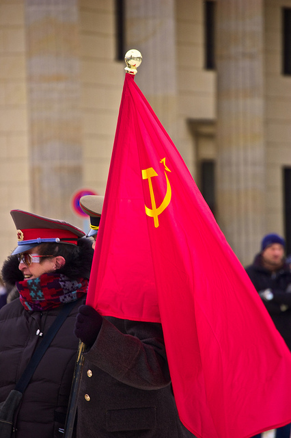 Soviet Flag, Photo by Malcolm Murray