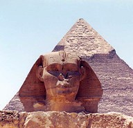 Sphinx & Pyramid of Giza, Photo by English 1050 Instructor