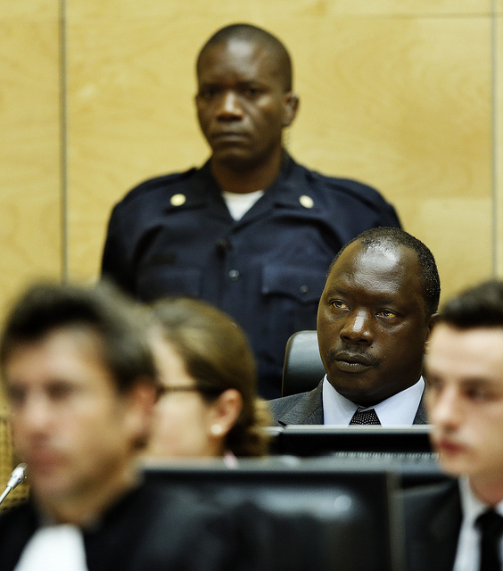 Thomas Lubanga, Congolese Warlord, Photo by ICC-CPI