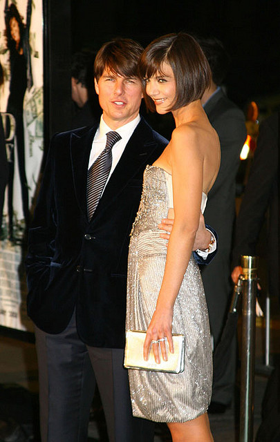 Tom Cruise & Katie Holmes, Photo by Gossip Girls