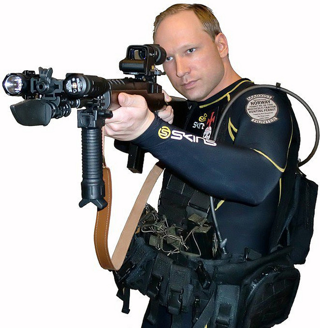 Anders Behring Breivik, Photo by Asian Media