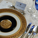 White House Table Setting, Photo by Luigi Crespo