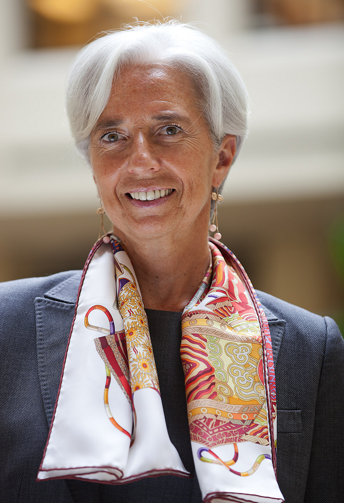 Christine Lagarde Headshot, Photo by IMF