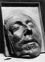 Death Mask of Oliver Cromwell, Photo by Lisby