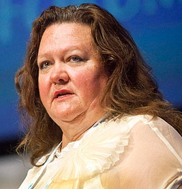 Gina Rinehart (Cropped), Photo by Panorama Mercantil