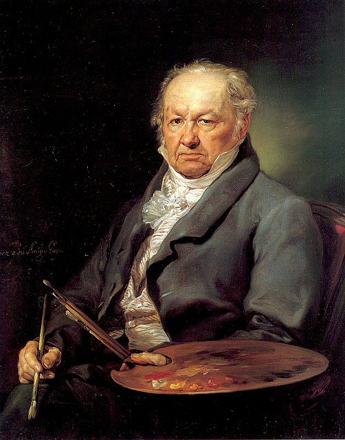 Portana, Vicente Lopez (1772-1850) - 1826 The Painter Francisco Goya (Prado, Madrid)