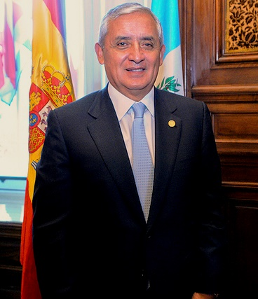 Otto Pérez Molina, Presidente de Guatemala, Photo Courtesy of Casa de Americas
