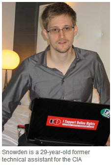 Edward Snowden, Photo by Pan-African News Wire File Photos
