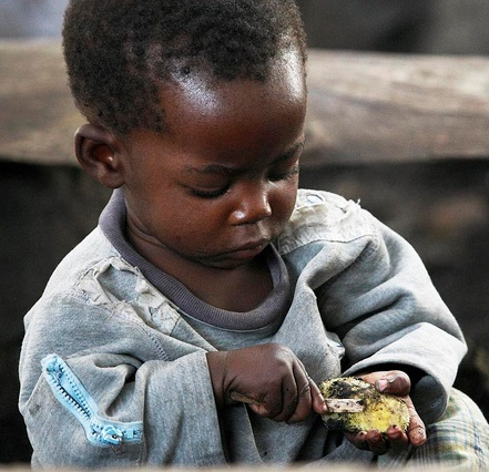 Congo Refugee, Photo by Steve Evans
